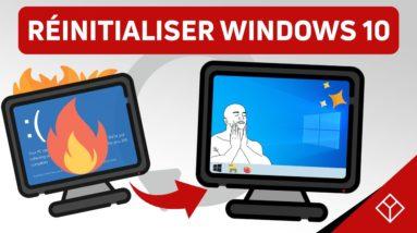 Comment formater / réinitialiser son PC sous Windows 10 ? (2020)