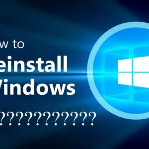 ❌ Réinstaller Windows 10 ❌