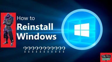 ❌ Réinstaller Windows 10 ❌