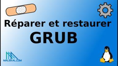 Comment réparer, réinitialiser et réinstaller GRUB pour récupérer le démarrage Linux