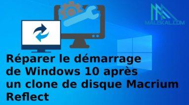 Réparer le démarrage Windows 10 avec Macrium Reflect Rescue Media
