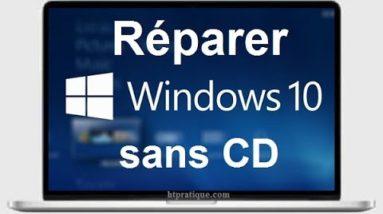 Comment réparer Windows 10 sans CD