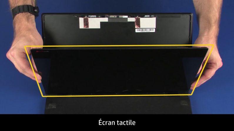 Démontage et remontage du module d'assemblage de l'écran, du boîtier d'écran et du capot HP OMEN 15