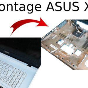 Comment démonter un ordinateur portable ASUS X75V (Tuto)
