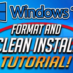 How to Format and Clean Install Windows 10 [2021] Tutorial