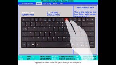 Acer eRecovery - Systeme de restauration à partir de la partition de Restauration