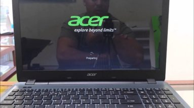 How to ║ Restore Reset a Acer Aspire E 15 to Factory Settings ║ Windows 8
