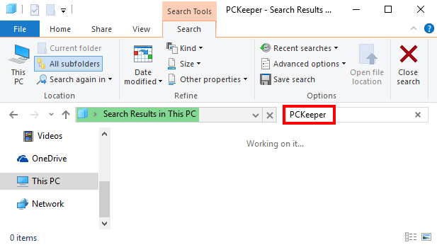 Comment Désinstaller PCkeeper