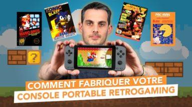 Fabriquer votre console portable Retrogaming avec Recalbox !