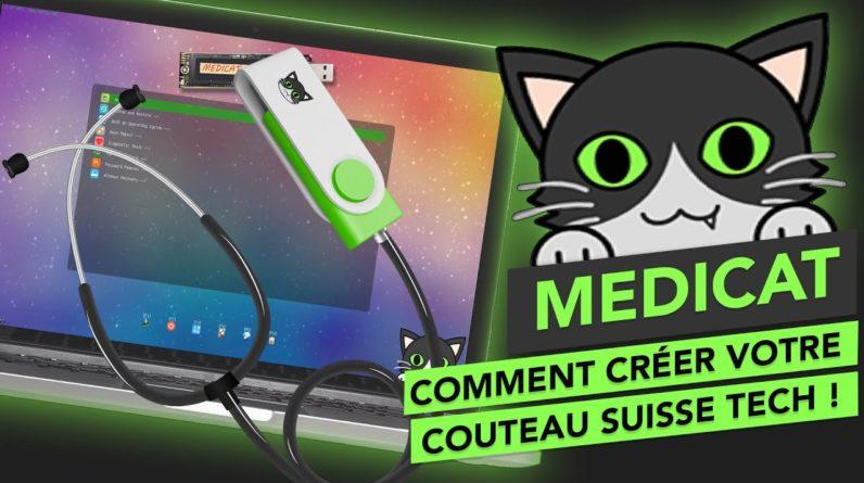 Medicat 21.03 :  Créer votre clé USB de dépannage informatique Ultime !