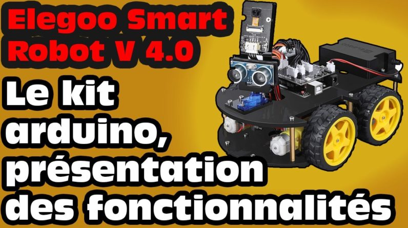 Test du Elegoo Smart Robot car V4.0