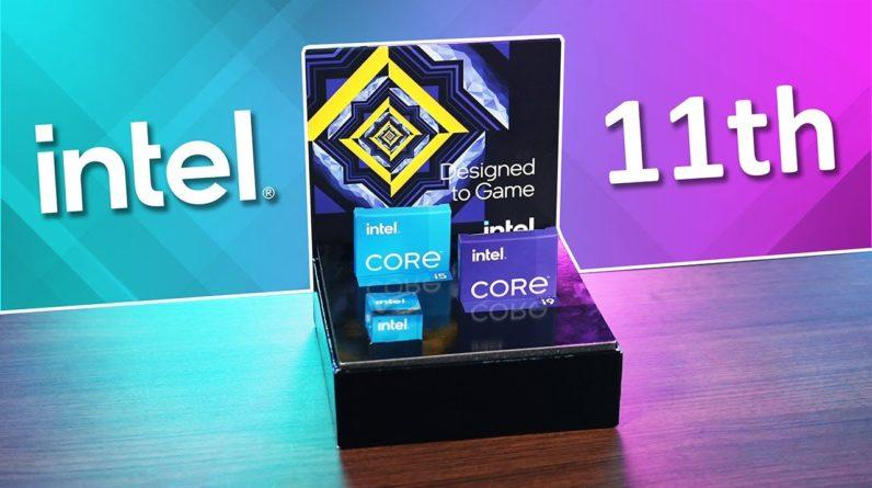 Les processeurs génération 11th d'Intel et les Z590 débarquent !