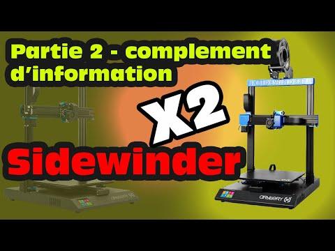 Sidewinder X2 partie 2 - informations - on regarde sous le capot
