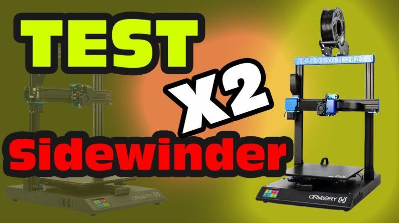 Test de la Sidewinder X2