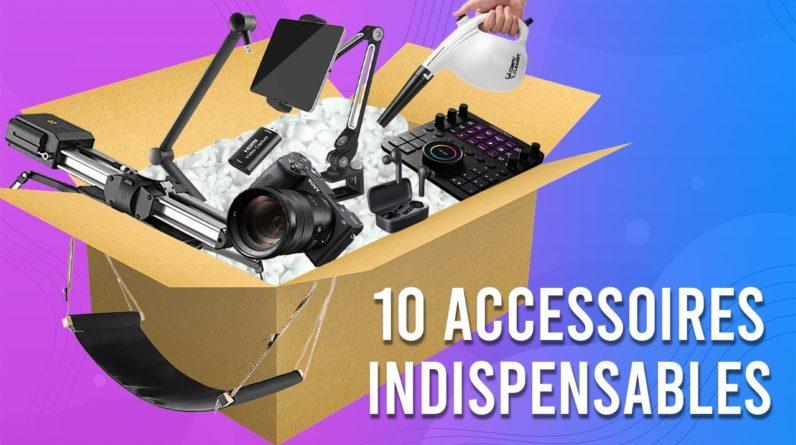 Top 10 Accessoires INDISPENSABLES de mon SETUP (2021)
