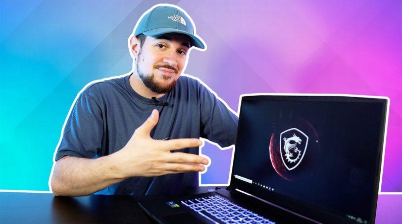 Une RTX 3000 dans un PC Gamer portable ? | MSI Pulse GL76