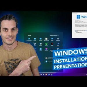 Windows 11 : Installation et présentation des nouveautés !