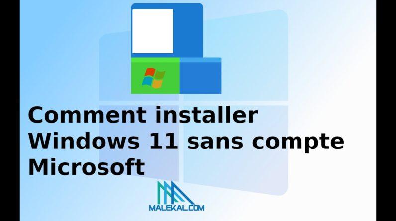 Comment revenir le menu démarrer classique dans Windows 11