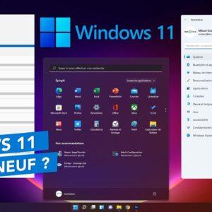 Windows 11 est disponible ! Les nouveautés & changements !